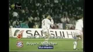 Crvena zvezda - Bayern 2:2 (german commentary)
