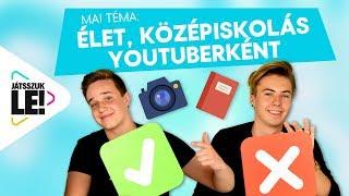 Suli és YouTube? Beszéljük ki Boldzerrel és Balukával! | Játsszuk le!