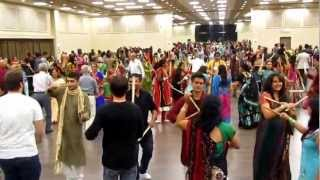 Garba and Dandiya. GCA Navratri 2012 - Ottawa