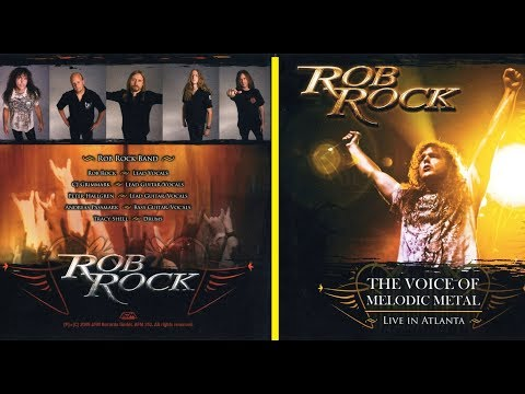 DVD - Rob Rock - The Voice Of Melodic Metal HD - Legendado PT-BR