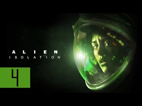 "Alien: Isolation - Let's Play - Part 4 - [M3: Encounters] - ""First Alien Sighting"""