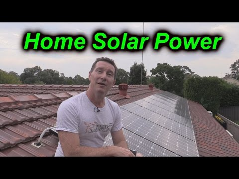 EEVblog #724 - Home Solar Power System Analysis & Update