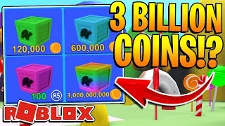 ROBLOX MINING SIMULATOR - 3 BILLION COINS CRATE INSANE OPENING! *OMG*