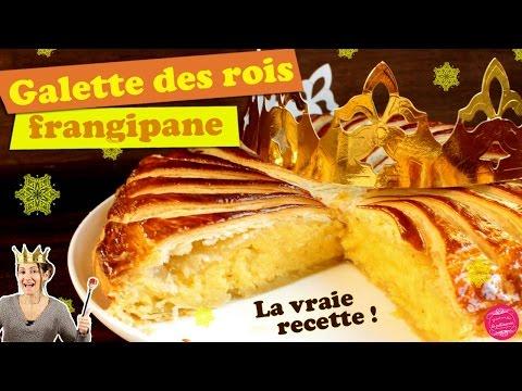 👑-galette-des-rois-frangipane,-la-vraie-recette-traditionnelle-!!!-👑