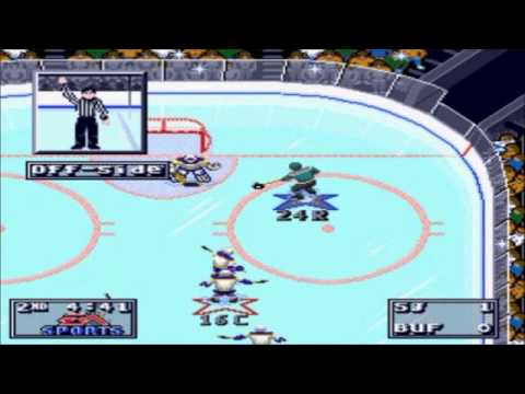 NHL 95- San Jose Sharks vs. Buffalo Sabres