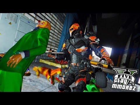 Deathstroke The Legendary Assassin ! (GTA 5 Superhero Mod)