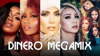 DINERO (MEGAMIX) - Jennifer Lopez & Cardi B ft. BLACKPINK, Nicki Minaj & CL | TeijiWTF