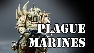 How to paint Death Guard Plague marines