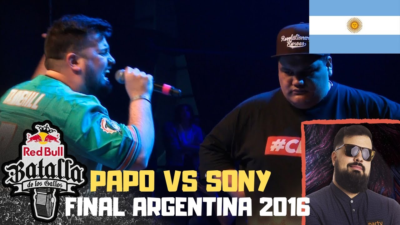 PAPO Reacciona a Papo vs Sony Final Argentina 2016