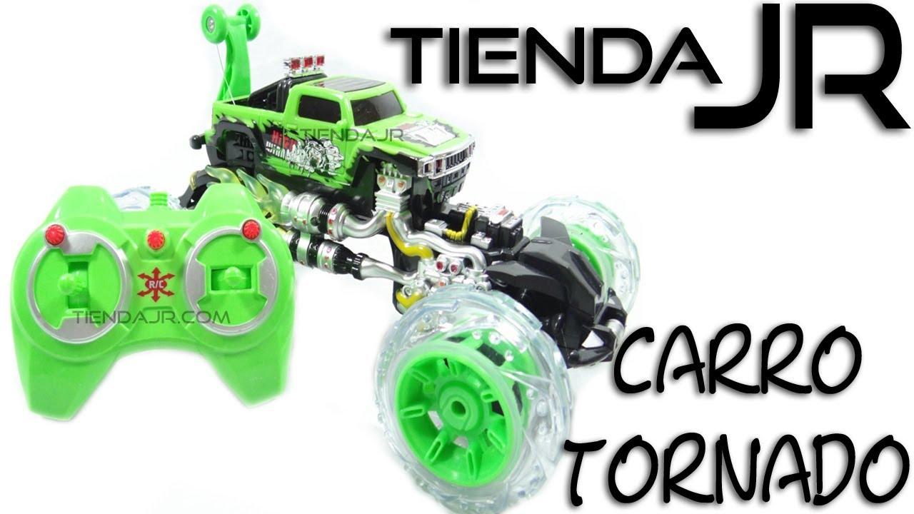 Carro Tornado De Juguete 360 Monster Control Remoto Recargable Giros