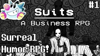 Let's Play Suits: A Business RPG (1)   OFF-Inspired Humor RPG!