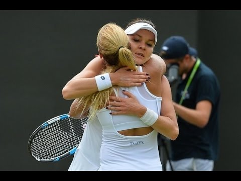 [HD] Dominika Cibulkova vs Agnieszka Radwanska Wimbledon 2016 Highlights