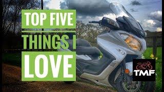 Suzuki Burgman 650 Executive | Top 5 things I love