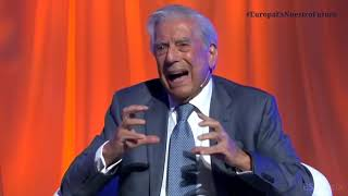 Mario Vargas Llosa parlant de l'independentisme (o això es pensa) Video