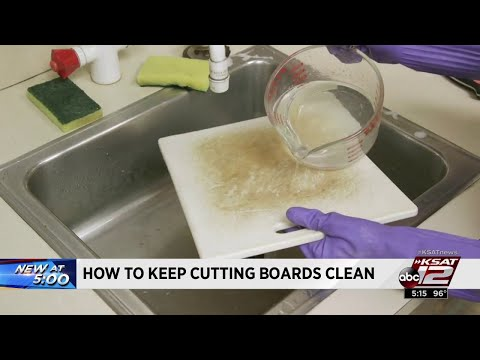 How to keep your cutting boards properly clean