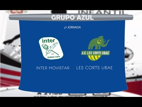 Inter Movistar vs Les Corts UBAE 4ª JOR Grupo Blanco