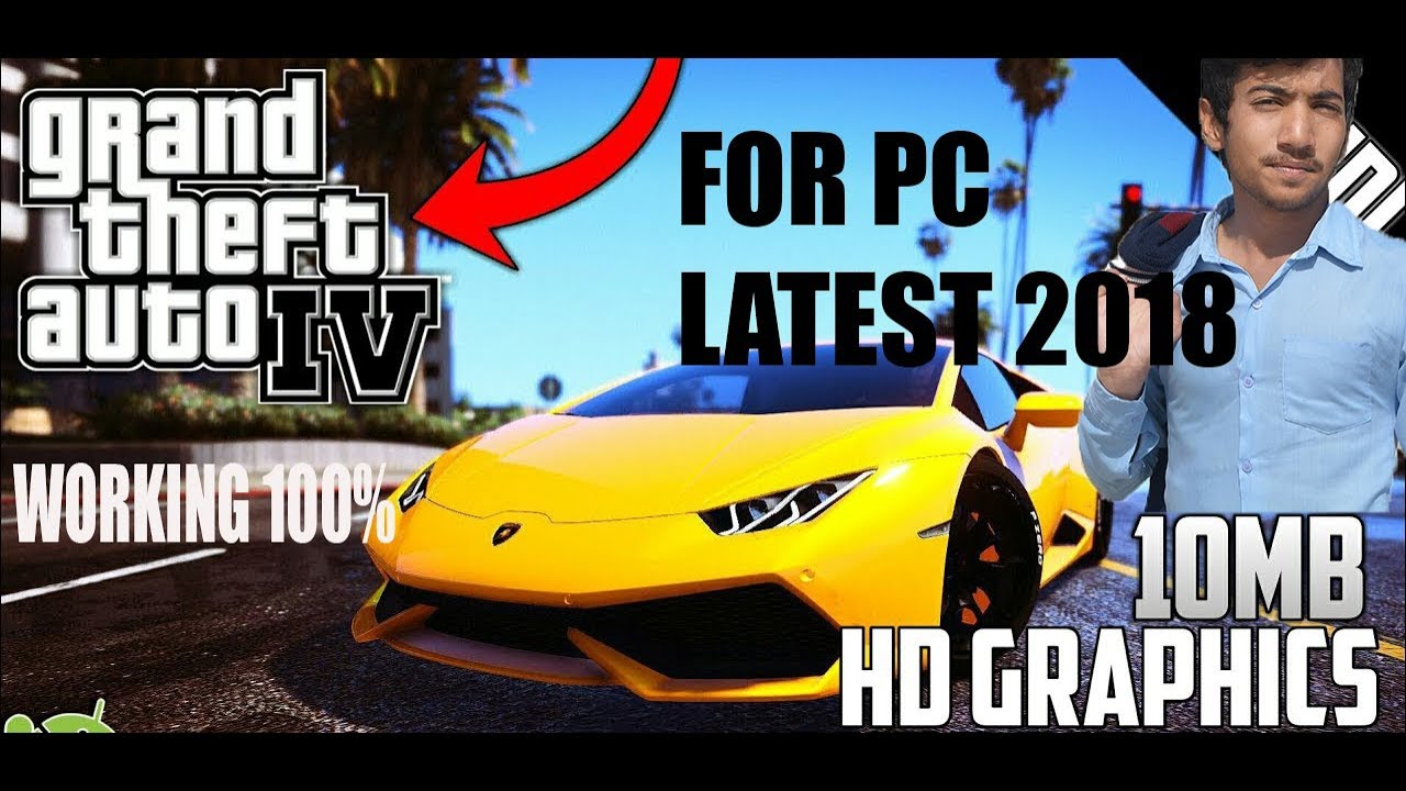 Download GTA 4 Full Game For PC Compreesed | LATEST 2018