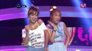 씨스타 loving you loving you by sistar mcountdown 2012 07 12