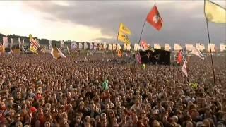 Manic Street Preachers - P.C.P Glastonbury Festival, 28th June 2014.