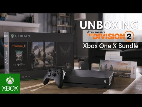 Unboxing Xbox One X Tom Clancy's The Division 2 Bundle (1TB)