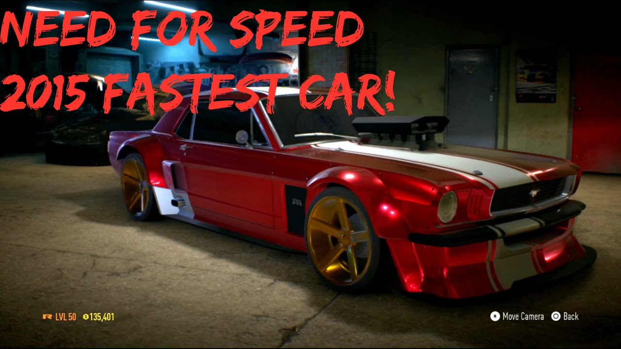 the real fastest acceleration car in need for speed 2015 1965 mustang youtube. Black Bedroom Furniture Sets. Home Design Ideas