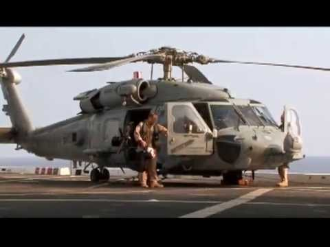 U.S. Navy Aircrew Brief, Prep & Launch HH-60H Sea Hawk Helicopter