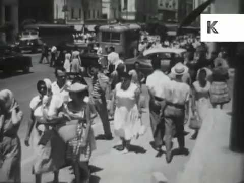 Late 1950s, Early 1960s Athens, Greece, Streets, Acropolis Museum, Archive Footage
