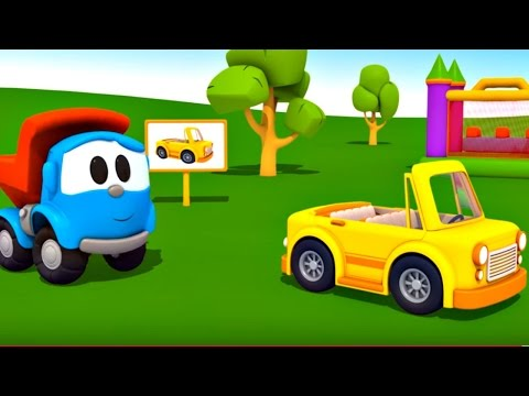 Leo Junior cabrio yapıyor - Eğitici çizgi film