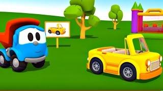 Leo Junior bir cabrio yapıyor - Eğitici çizgi film - Türkçe izle