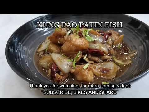 IKan Patin Kung Pao/ Kung Pao Patin Fish