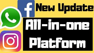 Facebook, Whatsapp, Instagram (All in one) Platform