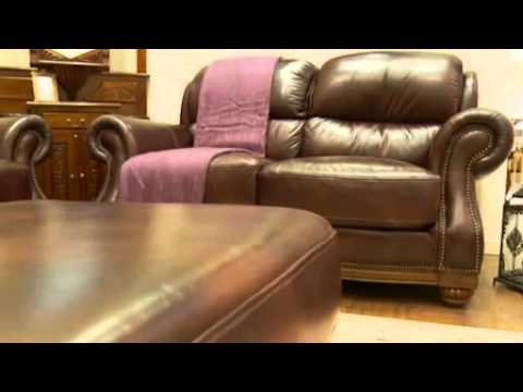 Vivaldi Leather Couches U0026 Leather Sofas   YouTube