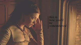 Gambar cover this is how you'll be remembered // anne boleyn [hbd samantha]