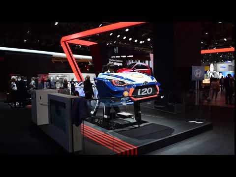 IAA 2017 Hyundai VR Simulator