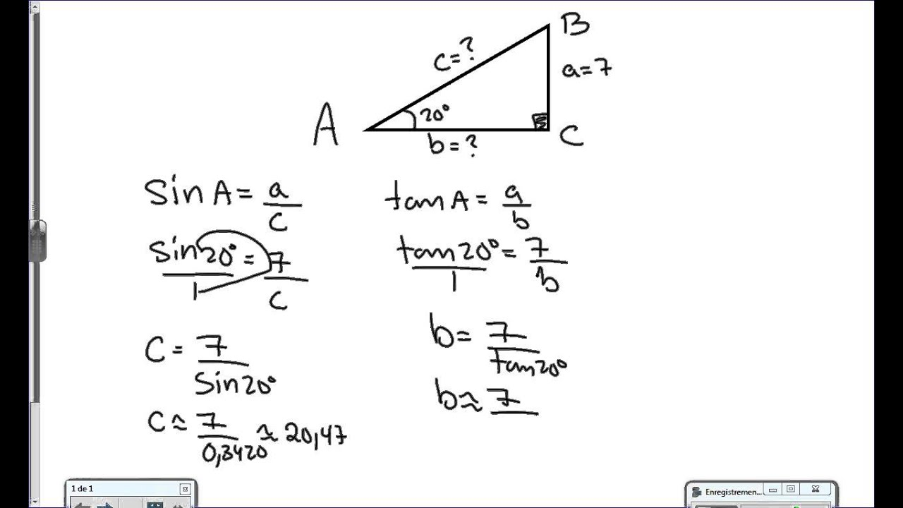 how to get a diangle of a rectangle