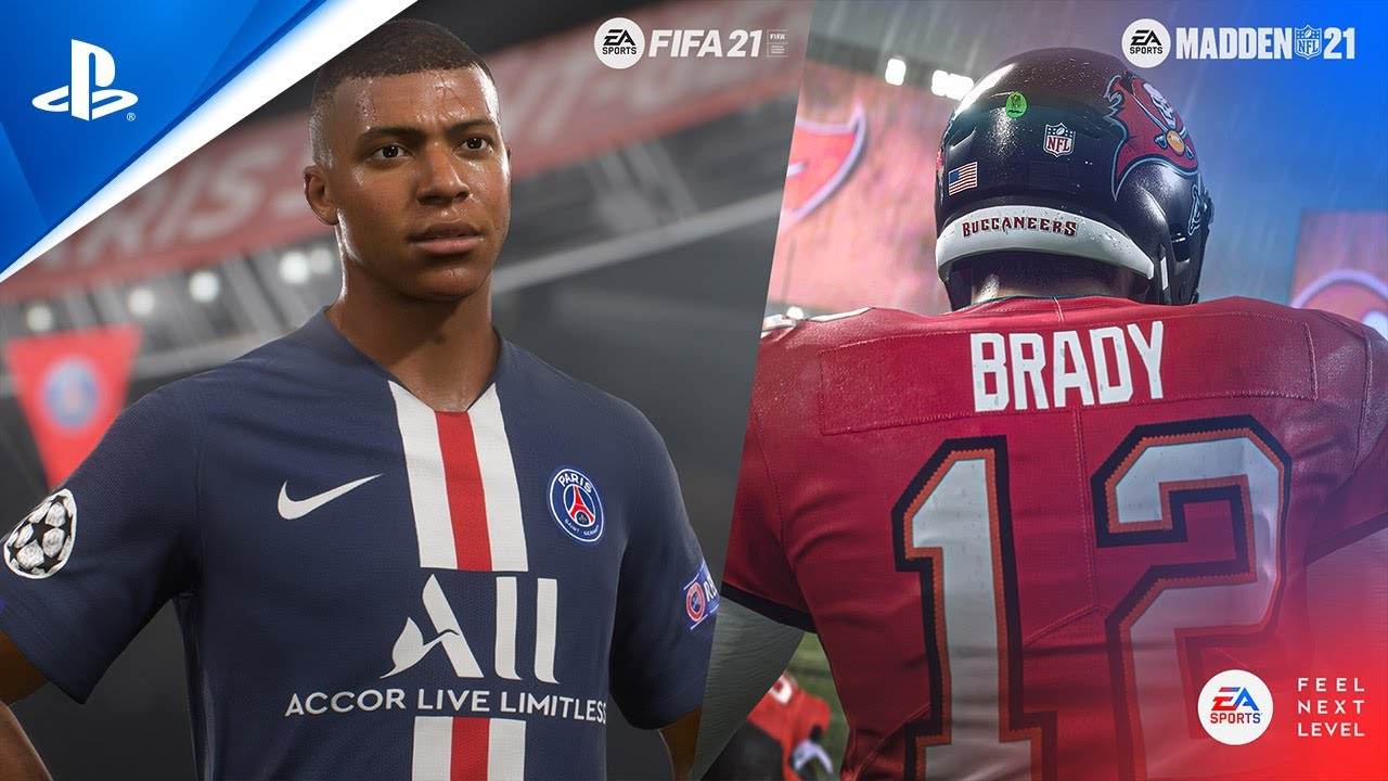 FIFA 21 and Madden 21, 'Feel Next Level' PS5 trailer