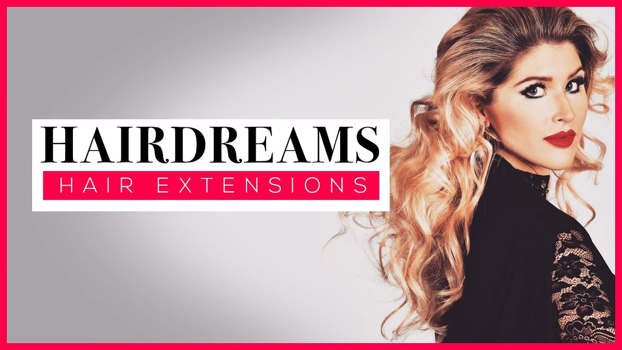 Natural Looking Hair Extensions By Hairdreams Before After Hair