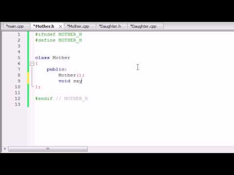 Buckys C++ Programming Tutorials - 52 - Inheritance
