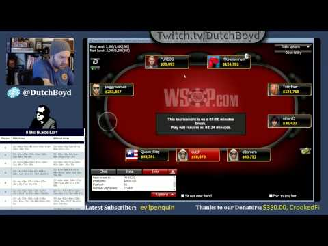 WSOP Event #64 - Online Bracelet Event (part 3 of 3)