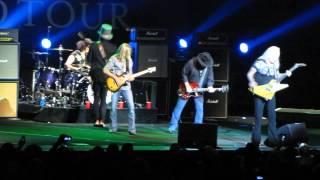 Lynyrd Skynyrd performing their encore, Freebird at their Sydney En...