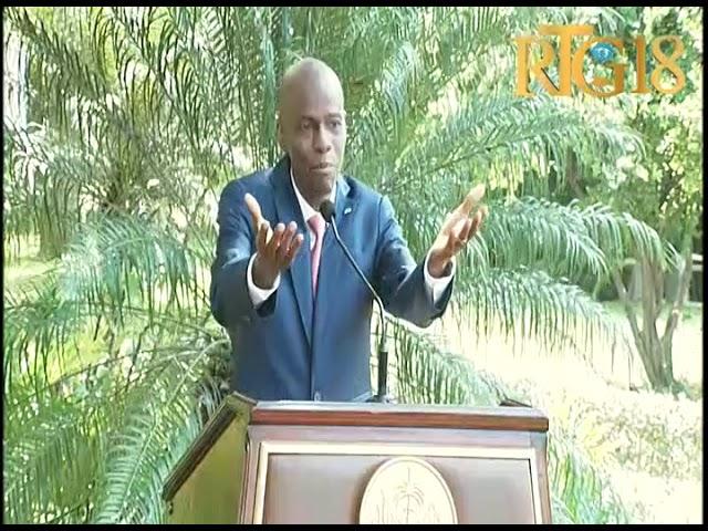 Le Président Jovenel Moïse a fait la radiographie du système socio-politique du pays.