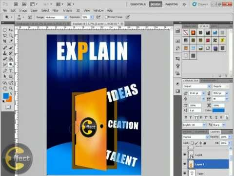 "Photoshop ""Explain Workshop"" at Faculty of Engineering"