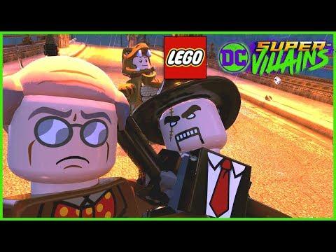 Lego DC Super Villains - Unlocking Scarface in Gotham City!