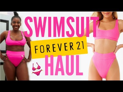 i-tried-on-$150-of-swim+-bikinis-at-forever-21!!-cheap-and-cute?!!