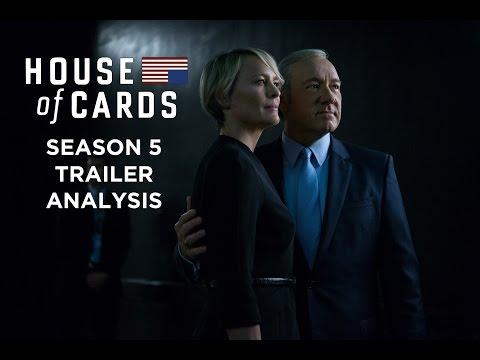 House of Cards Season 5 Trailer Analysis