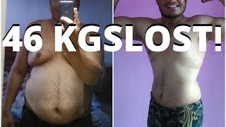 46KGS Indian Weight Loss Transformation