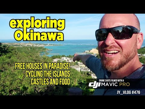 Cycling Okinawa: Homes for free in Paradise, Castles and Small Islands
