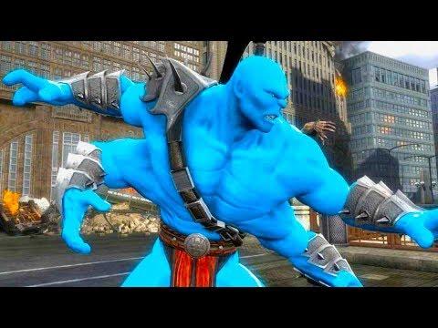 Mortal Kombat Komplete Edition - Avatar Goro & Kintaro Skin Mod Tag Ladder 4K Gameplay Playthrough