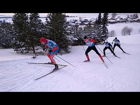 Фильм 2 .Мужская лыжная гонка