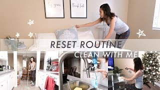 Reset Day + Cleaning Routine to Get Your Life Together | Clean with Me ✨